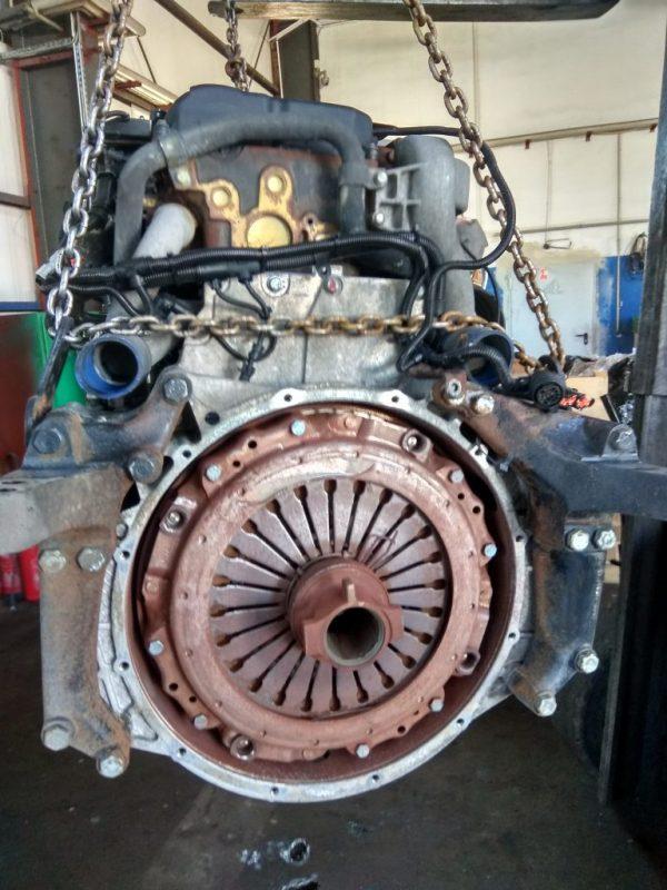 Двигатель MAN D2066 400 лс - TGA D2066LF06