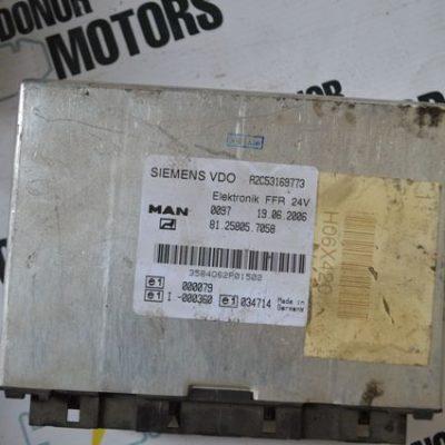 Блок управления электронный VDO FFR MAN TGA 81258057058