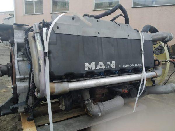 Фото двигатель d2066 lf60 для man /tgs/tgx (5052638046264)