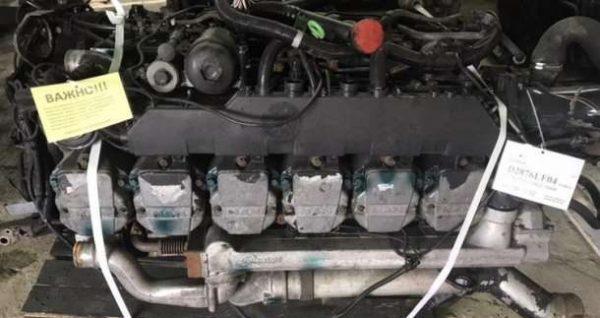 Фото двигатель d2876 lf07 евро 2 для ман тга