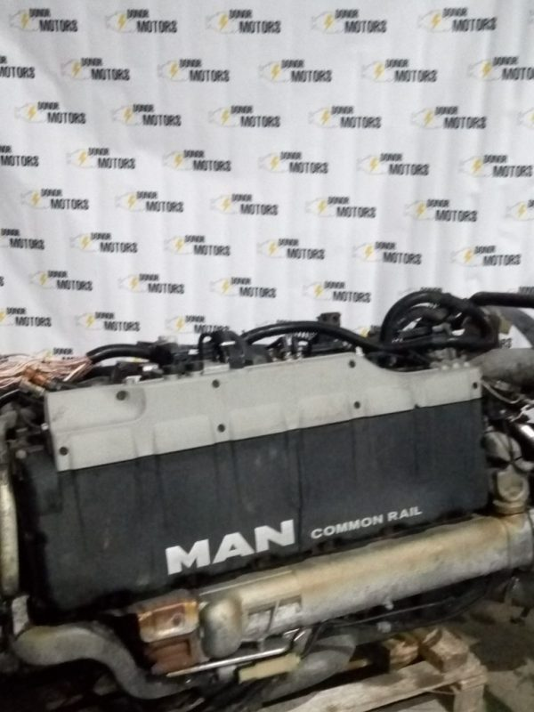 Фото двигатель man tga 37.390