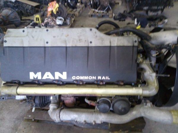 Фото d2676lf14 480лс двигатель man tgatgstgx