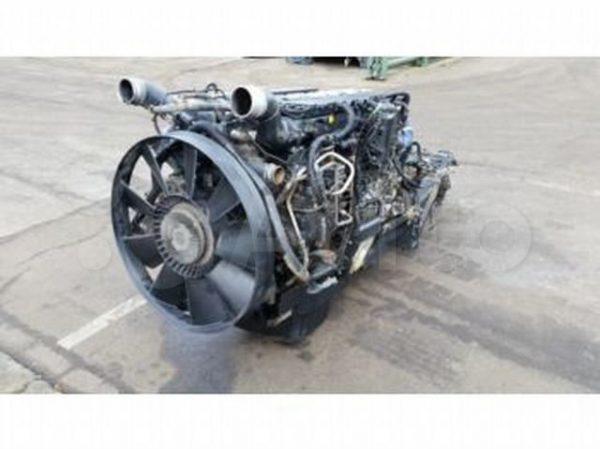Фото двигатель man tga d2866lf31 410лс