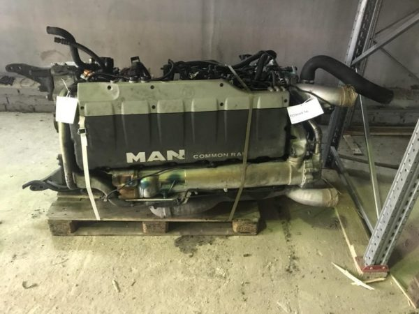 Фото двигатель d2066lf36 440 л.с. man tgs