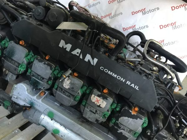 Фото двигатель d2876lf12 480 лс man tga