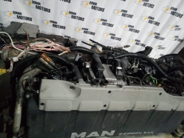 Фото двигатель man tgs модель d2676lf01 480 л