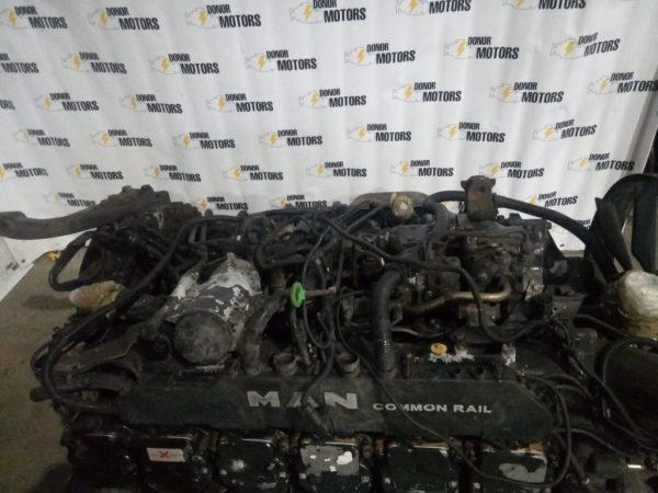 Фото двигатель man d2066lf39 320 для грузовика man tga