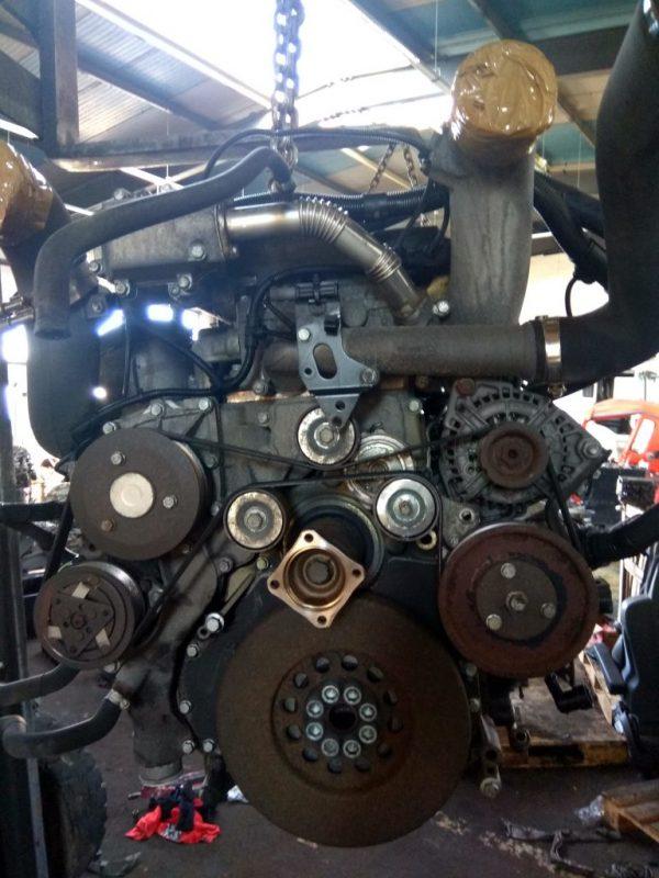 Фото двигатель d2066 lf25 для man /tgs/tgx (50519852461990)