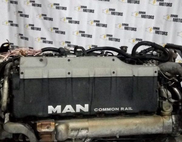 Фото двигатель man d267613 540 для грузовика man tga