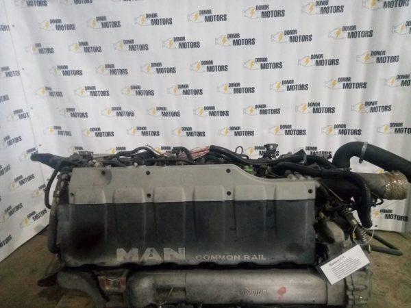 Фото двигатель d2066lf11 430 лс man tga